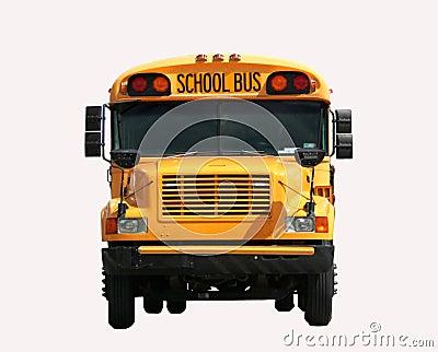 Schoolbus front view