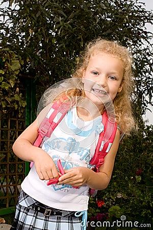 Schoolgirl #1