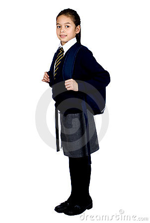 Free Schoolgirl With Rucksack Royalty Free Stock Photos - 1680238