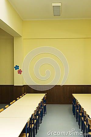 Schoolroom interior