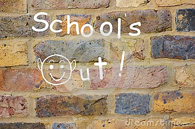 Schools out!