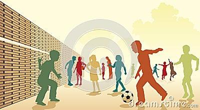 Schoolyard football