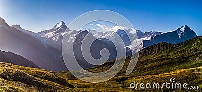 Schreckhorn Mountain Panorama