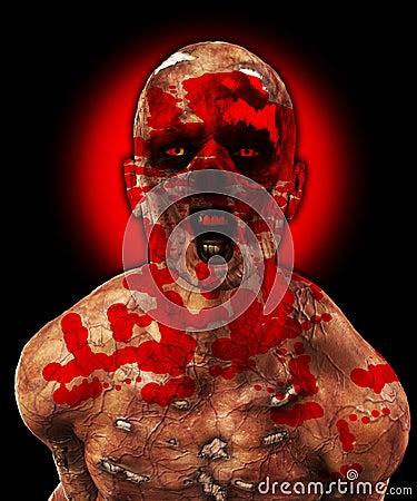 Schrecklicher Zombie