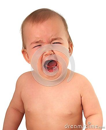 Schreeuwende baby