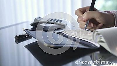 Schreiben eines Schecks