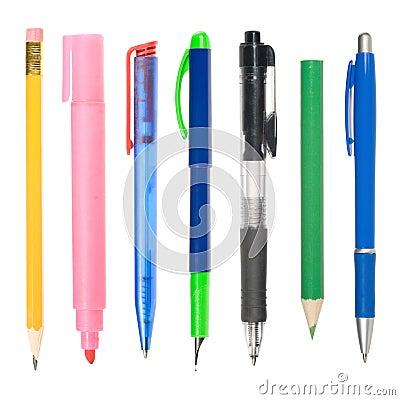Schrijvende instrumenten