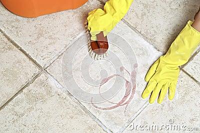 schrubben des bodens stockfotografie bild 33172612
