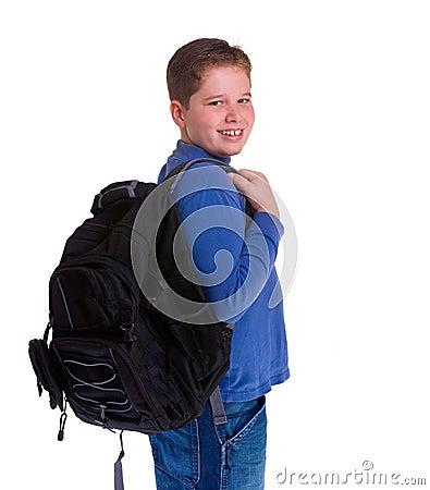 Schule-Junge