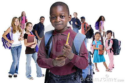 Schule scherzt Verschiedenartigkeit