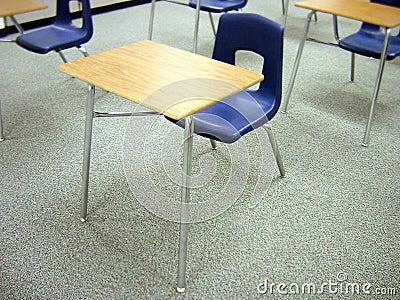 Schule-Schreibtisch