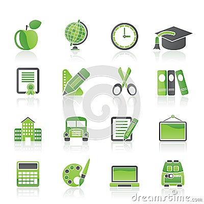 Schule- und Ausbildungsikonen