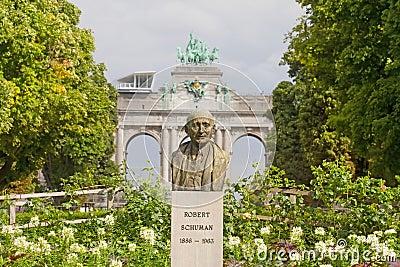 Schuman Statue, Brussels