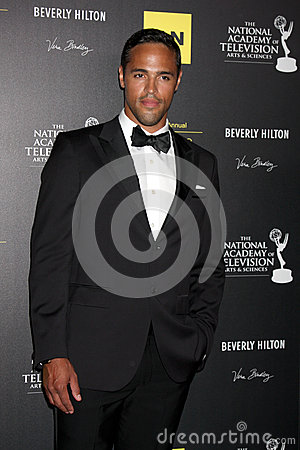 Schuyler Yancy arrives at the 2012 Daytime Emmy Awards Editorial Photo