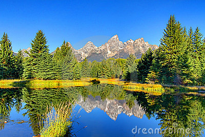 Schwabacher s Landing in the Grand Tetons