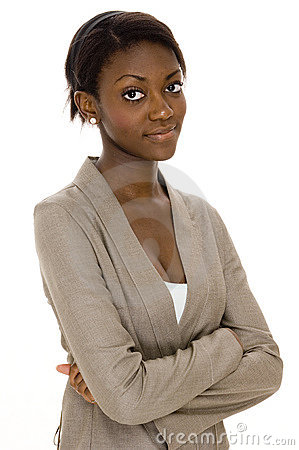 Schwarze Frau