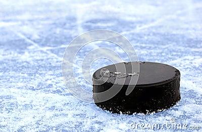 Schwarzes Hockey