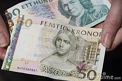 Schwedisches Bargeld