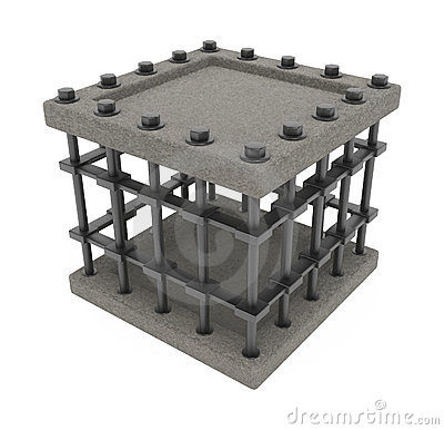 Schwerer Rahmen