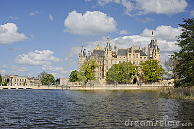 Schwerin Castle Stock Photography - Image: 19551882