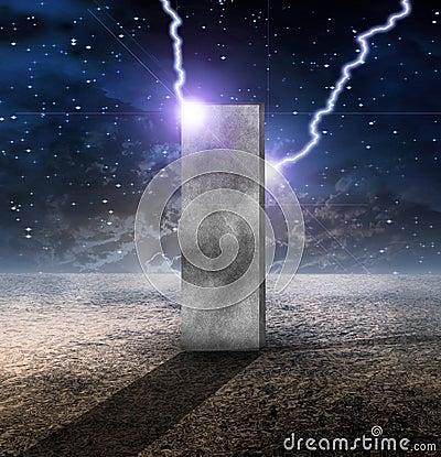 Sci fi brick