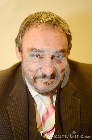 John Rhys-Davies Editorial Stock Photo
