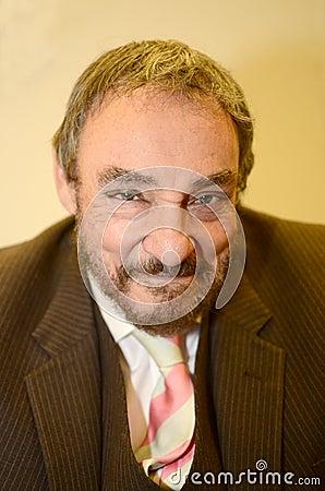 John Rhys-Davies Editorial Stock Photo