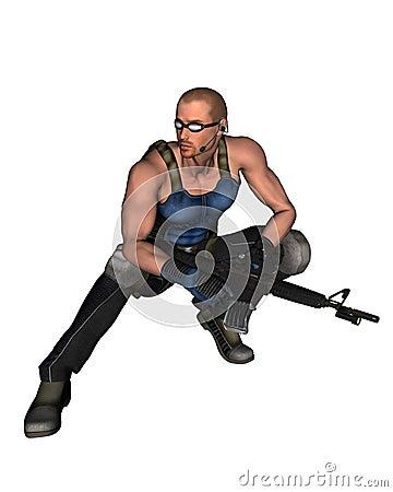 Sci-Fi Mercenary - 2