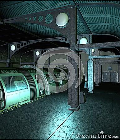 Sci-fi station 2