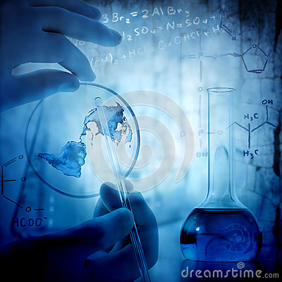 Free Science And Medical Background Stock Image - 30204851