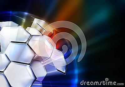 Science Background horizontal