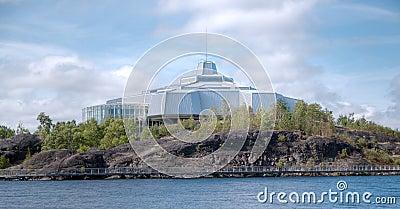 Science center North in Sudbury Ontario Canada