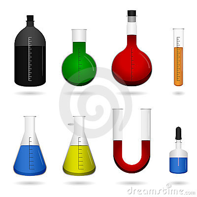 Free Science Chemical Lab Equipment Royalty Free Stock Photos - 14391838