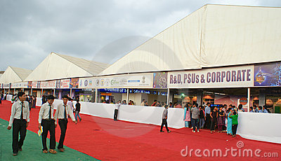 Science Exhibition in 99th Indian Science Congress Editorial Stock Photo