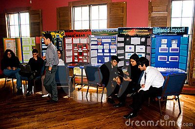 Science fair Editorial Photography