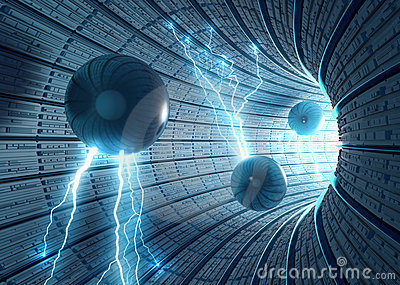 Science Fiction Background Stock Photography - Image: 13949742