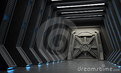 Science fiction corridor