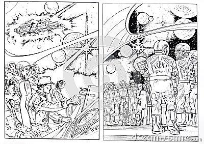 Science fiction draws