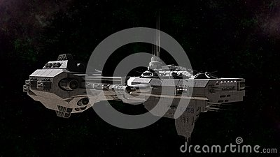 Science Fiction Gunship