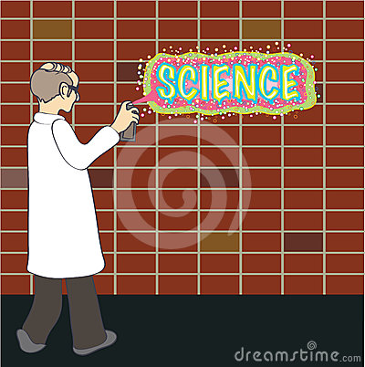 Science graffiti