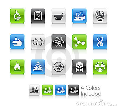 Science Icons // Clean Series