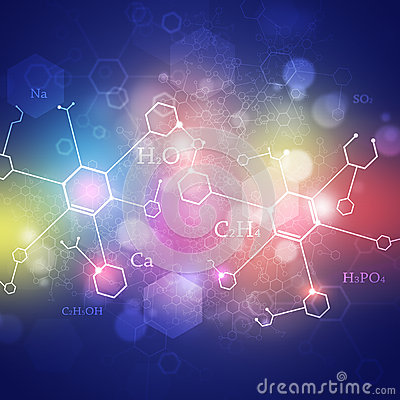 Free Science Multicolor Abstract Background Royalty Free Stock Photography - 41352437