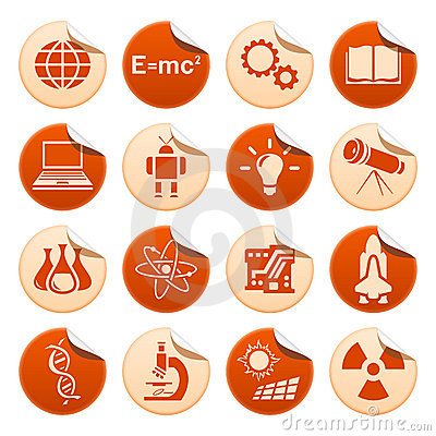 Science & technology stickers