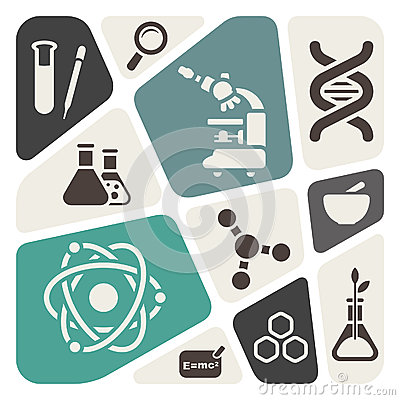 Science theme background