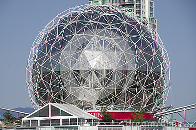 Science World Vancouver Canada Editorial Stock Image