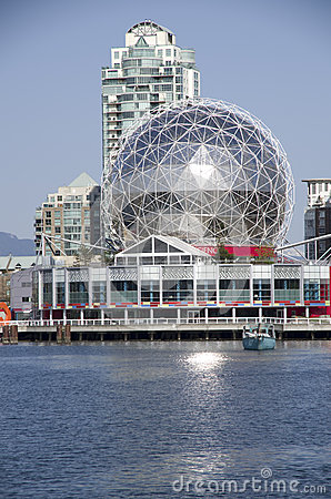 Science World Vancouver Canada Editorial Photography