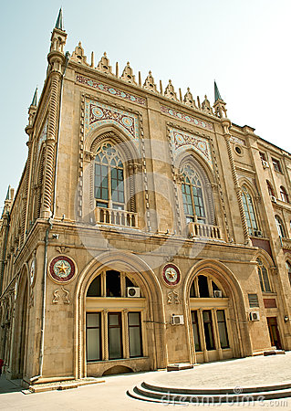 Scientific Academy in Baku