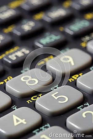 Scientific Calculator Keys