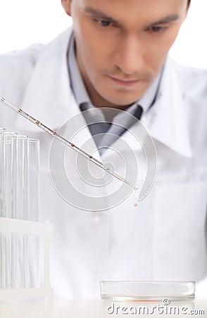 Scientific experiment.