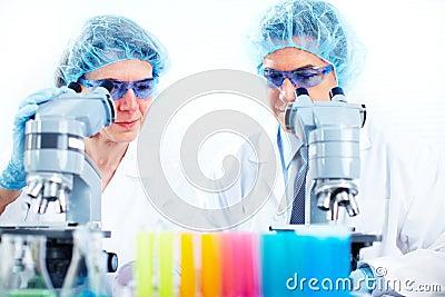 Scientific laboratory.